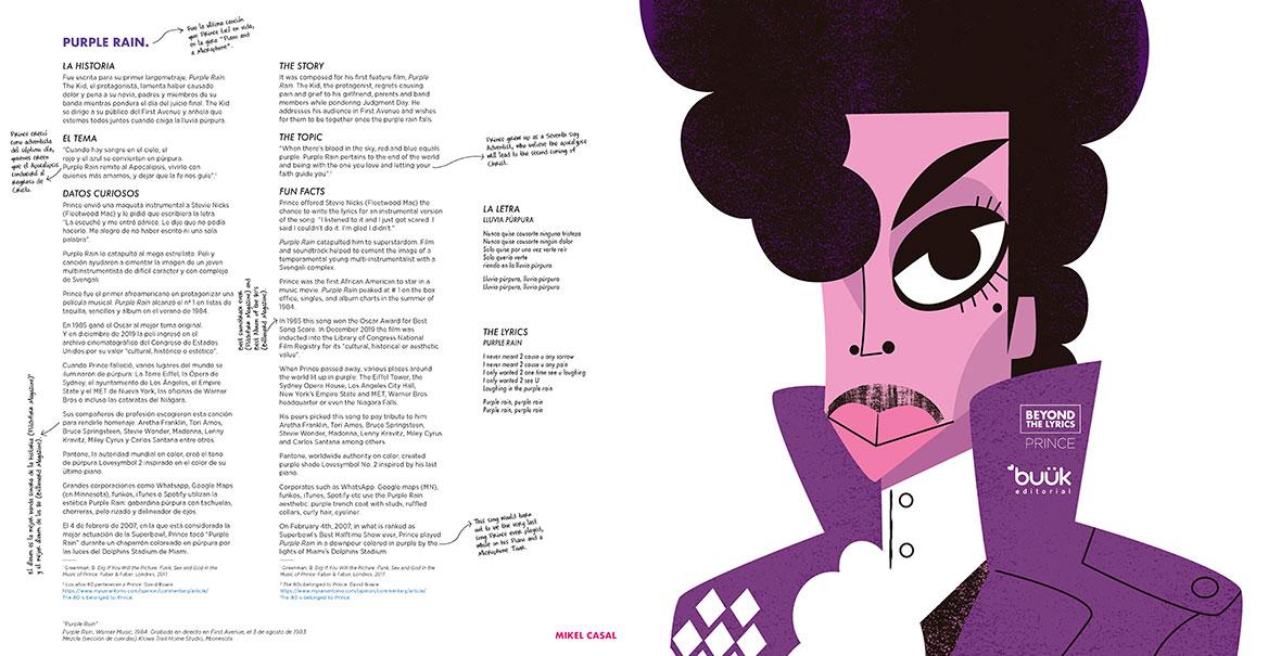 Prince: Beyond the Lyrics - Purple Rain