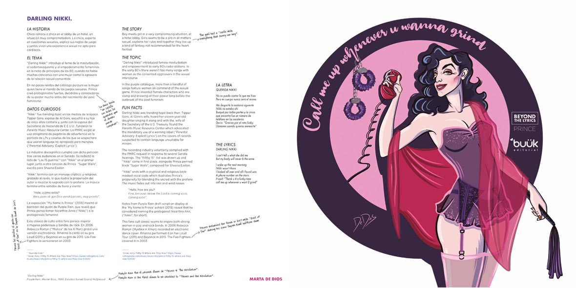 Prince: Beyond the Lyrics - Darling Nikki